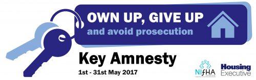 Tenancy Fraud Key Amnesty – 1st – 31st May 2017