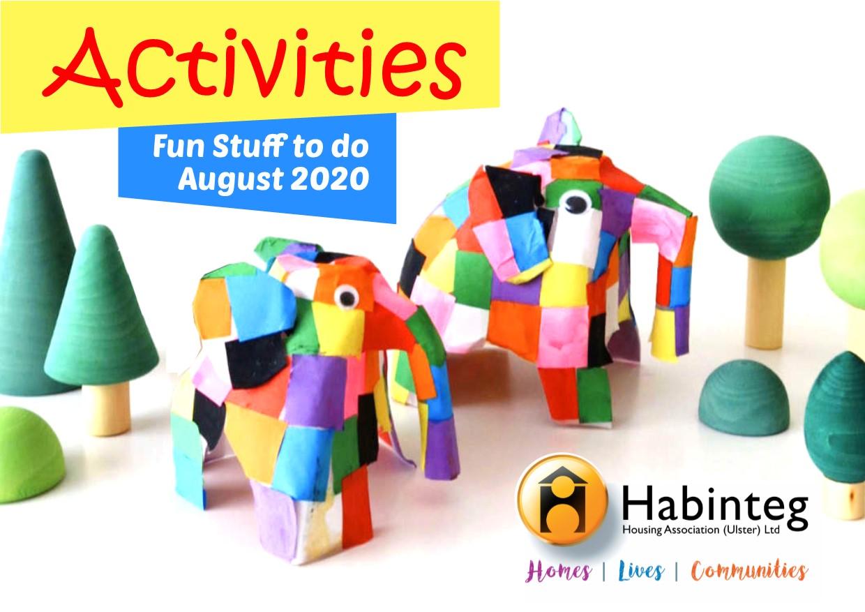Fun Activities for August 2020