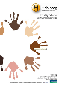 Habinteg equality scheme| N Ireland| Housing
