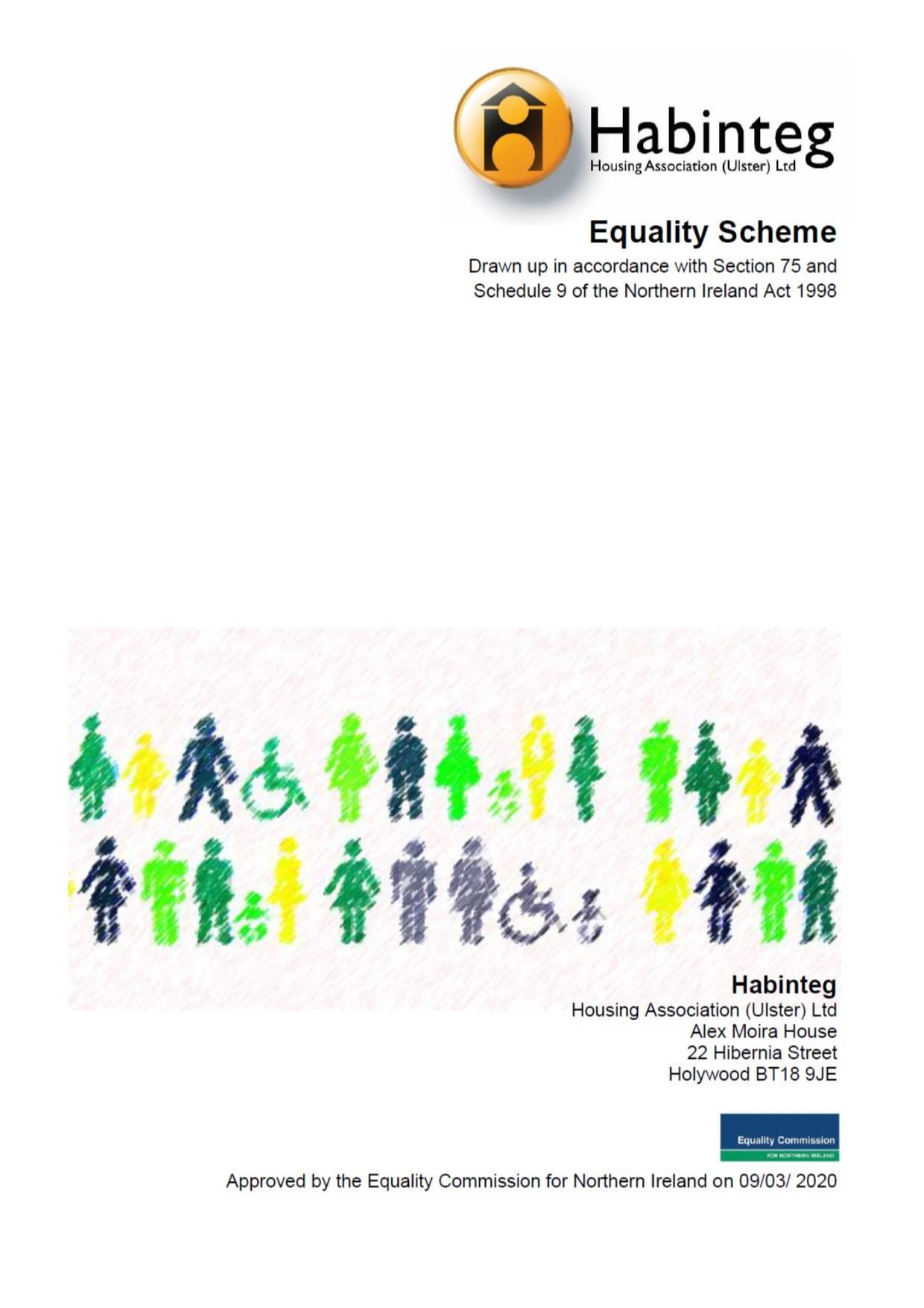 Habinteg equality scheme| N Ireland| Housing